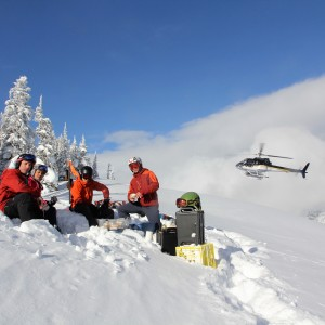 Hot Heli Lunch - Photo : Craig Ellis